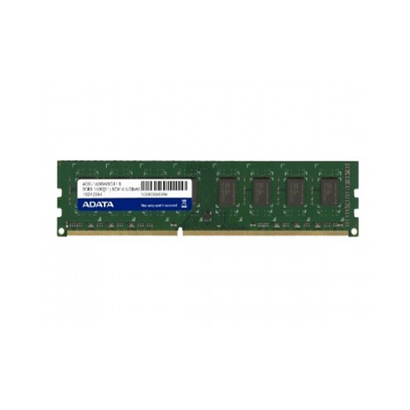 ADATA 4GB - DDR3 1600 Mhz. Desktop Ram