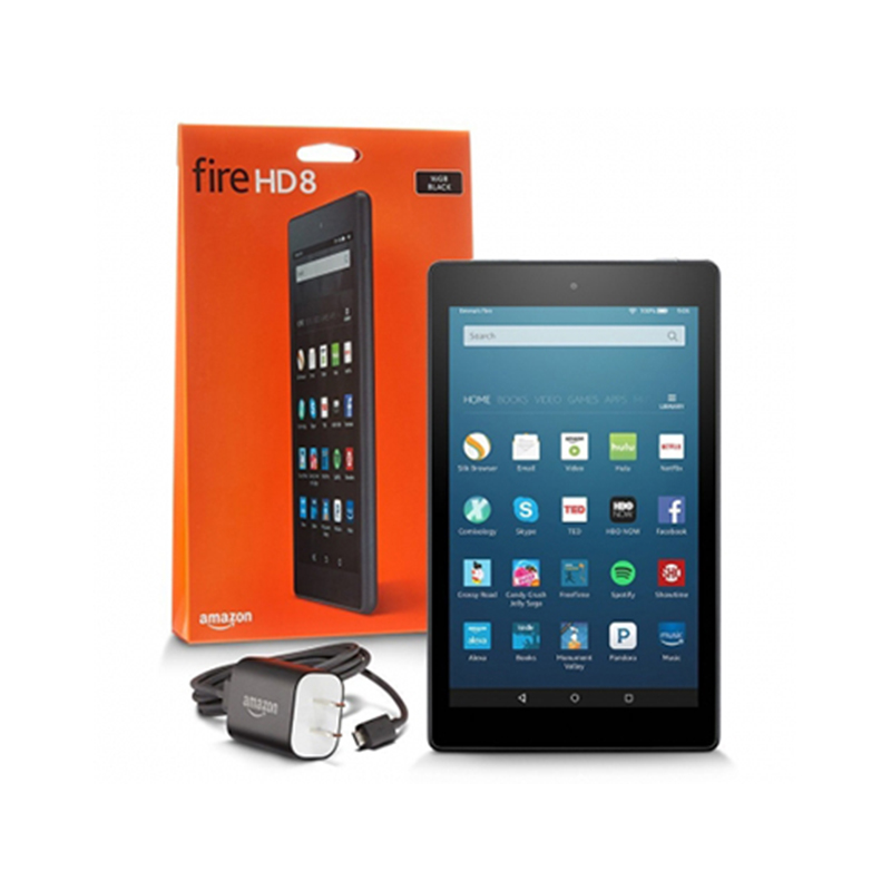 "Amazon Fire HD 8 Tablet (8"" HD Display, 16 GB)"