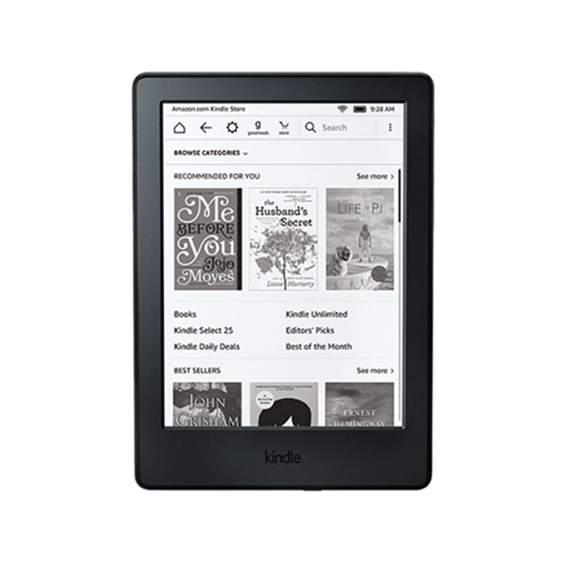 "Amazon Kindle E-reader (Previous Generation - 8th) - Black, 6"" Glare-Free Touchscreen Display, Wi-Fi"