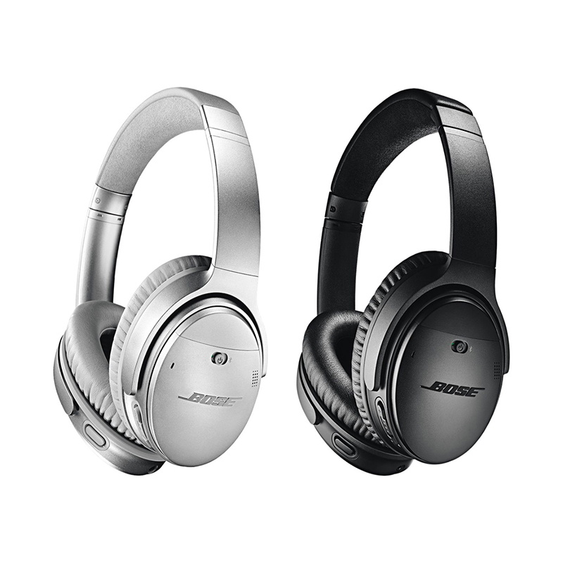 Bose Quiet Comfort 35 - Wireless Bluetooth Headphones, Noise-Cancelling, with Alexa voice control