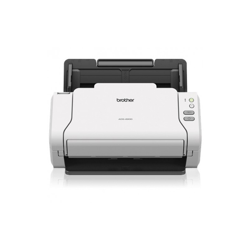 Brother ADS-2200 Desktop Color Sheetfed Scanner (ADF, Duplex)