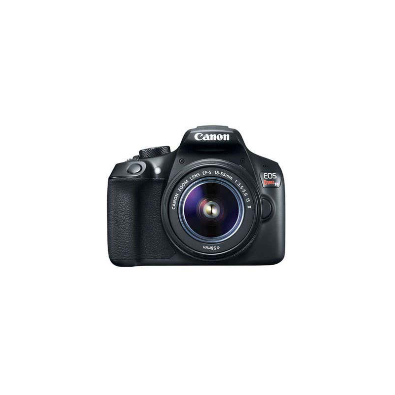 Canon EOS 1300D DSLR, Canon EF Mount, Approx. 18.0 megapixels, ISO 100–6400 (equivalent to ISO 12800)