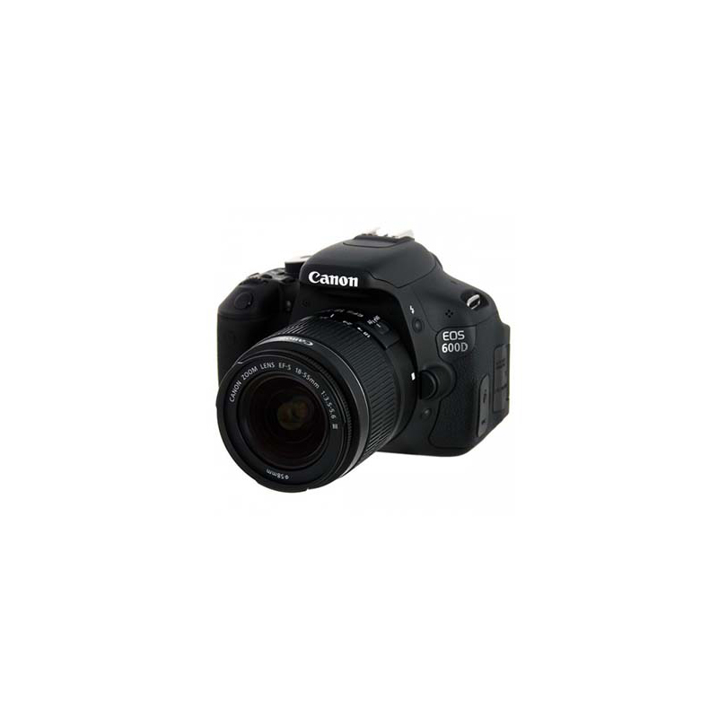 Canon EOS 600D DSLR, Canon EF Mount, Approx. 18.0 megapixels, ISO  100–6400 (equivalent to ISO 12800)
