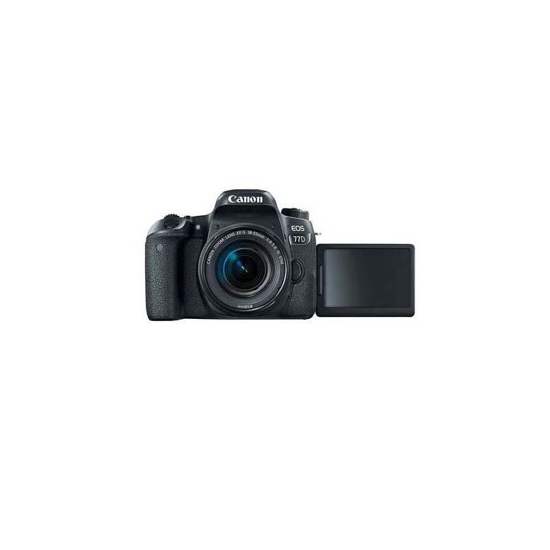 Canon EOS 77D DSLR, Canon EF mount, Approx. 24.20 MP, 25600 ISO