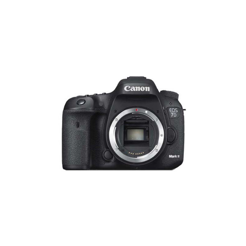 Canon EOS 7D Mark II DSLR, Canon EF mount, Approx. 20.2 megapixels,  ISO 100–16000 (Expanded: ISO 25600, ISO 51200)