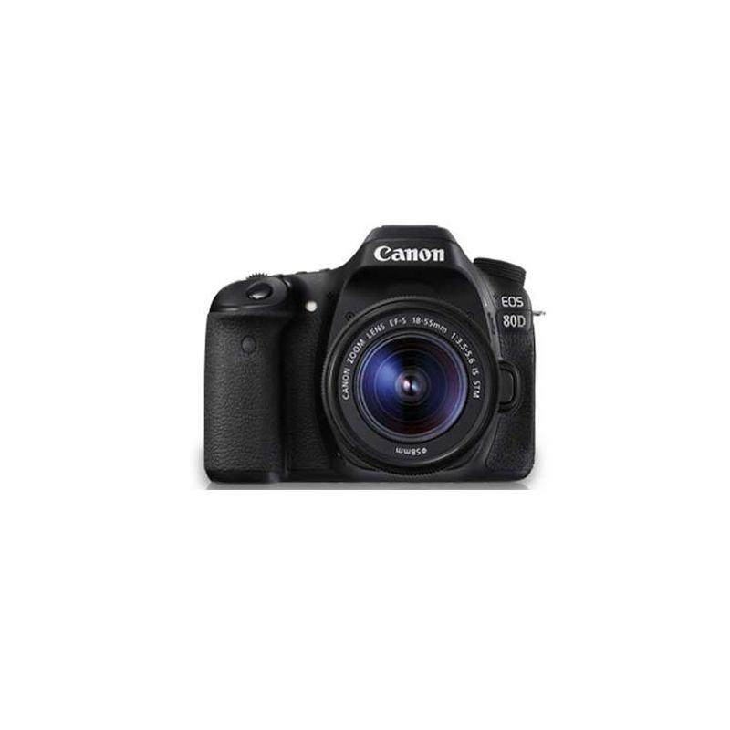 Canon EOS 80D DSLR, Canon EF mount, 24.20 MP, ISO 100 - ISO 6400