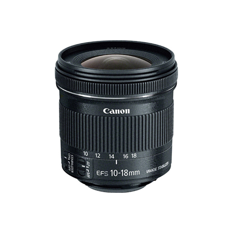 Canon EF-S 10-18mm f 4.5-5.6 IS STM Zoom Lens
