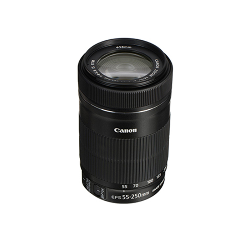 Canon EF-S 55-250mm F4-5.6 IS Zoom Lens