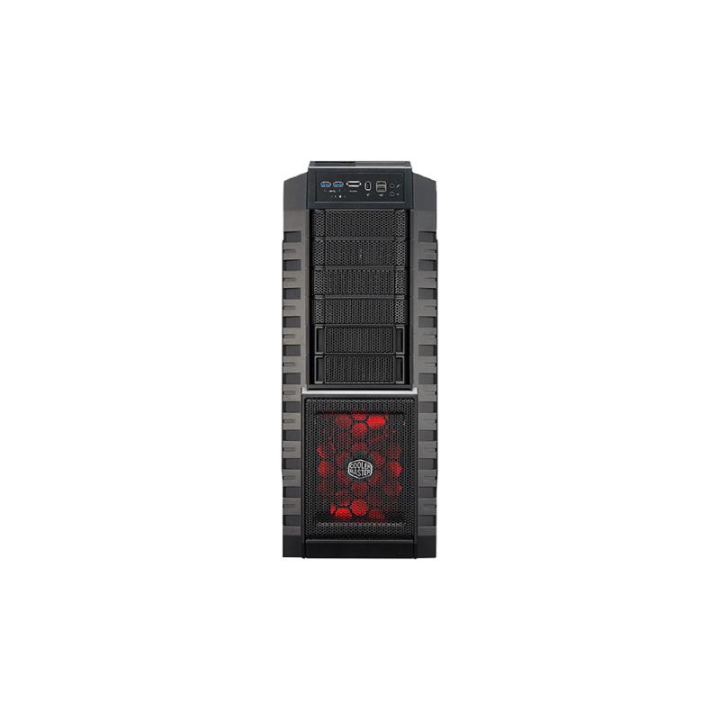 Cooler Master HAF X Full Tower (Transparent Side Window) Gaming Desktop Case