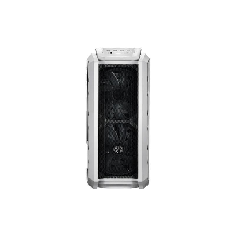 Cooler Master MasterCase HAF H500P Mesh White Mid Tower ATX Gaming Desktop Case