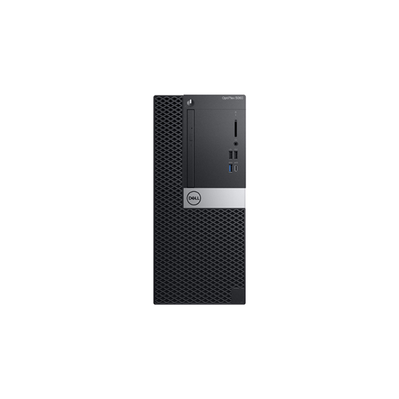 Dell Optiplex 5060 MT, 8th Gen Intel Core i5 8500 (3.0-4.1GHz), 4GB DDR4 Ram, 1TB HDD, Intel Integrated Graphics