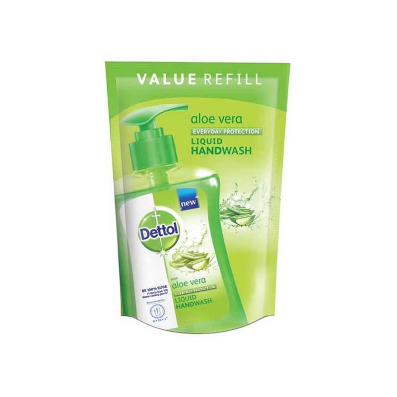 Dettol Hand wash Aloe Vera 170ml Liquid Soap Refill