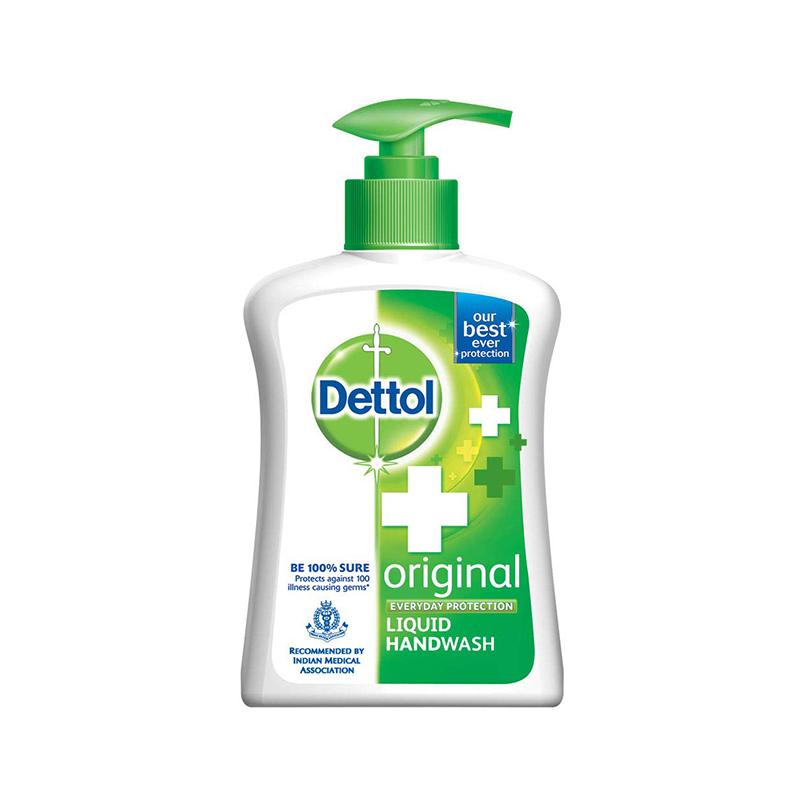 Dettol Handwash Original 200ml Pump Liquid