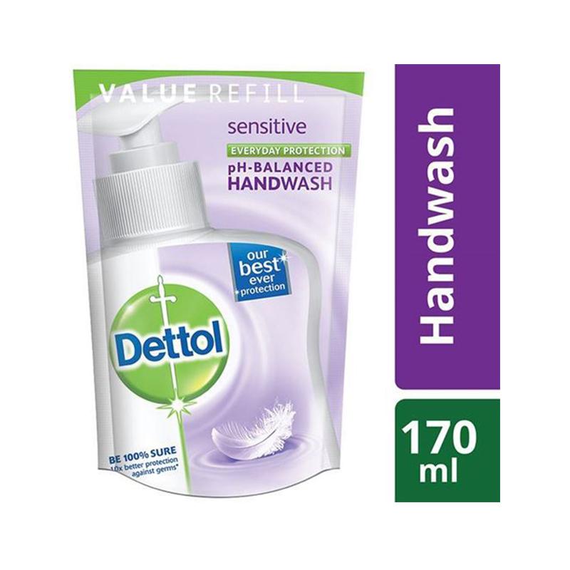 Dettol Sensitive 170 ml. Liquid Hand wash Refill