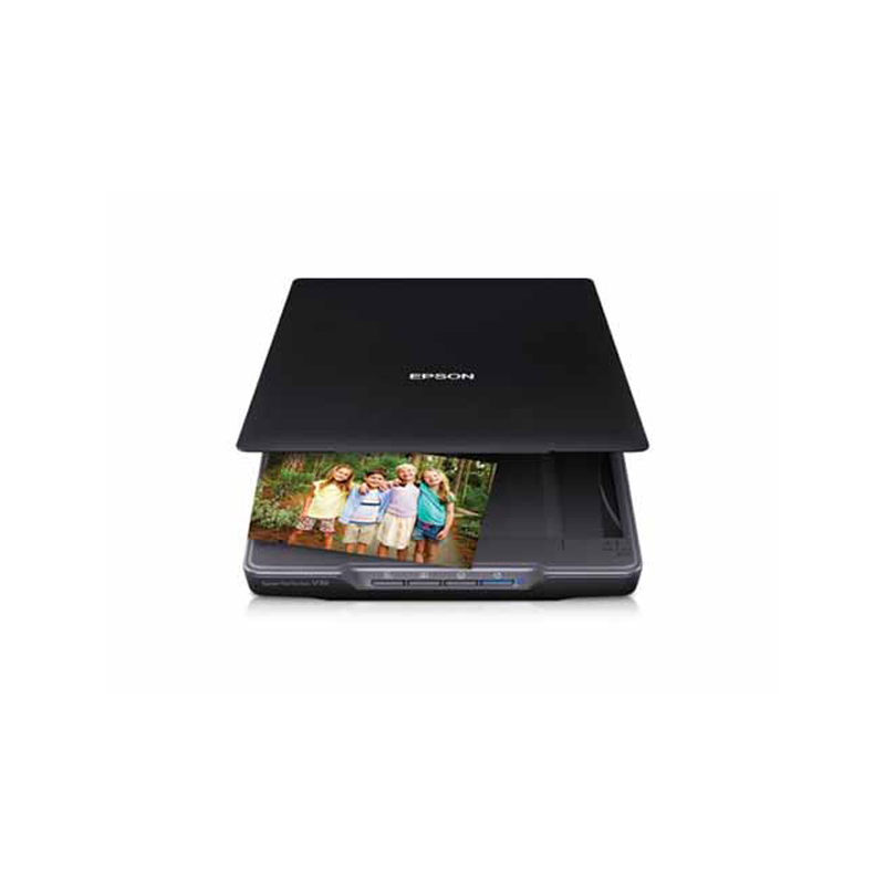 Epson Perfection V39 Flatbed Color RGB LED USB Image Scanner