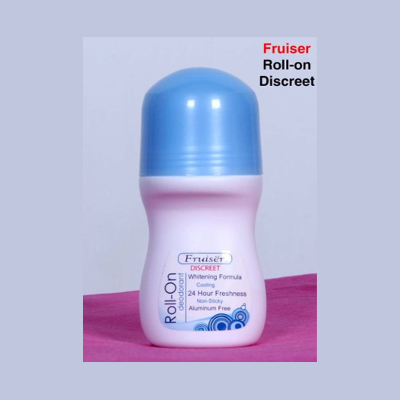 Fruiser Roll-On with UV whitening Formula - Discreet