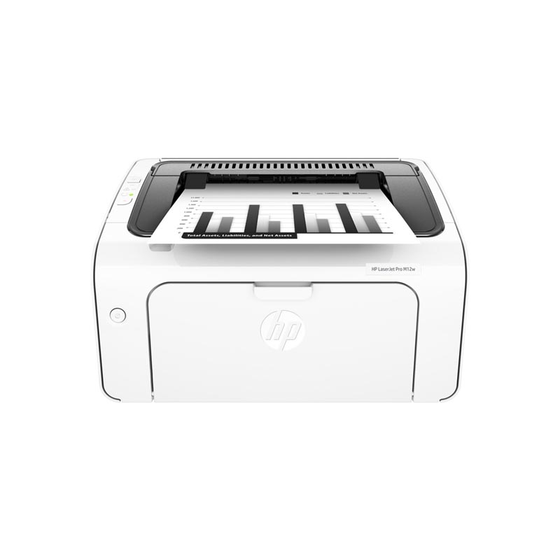 HP LaserJet Pro M12w Single Function Mono Laser Printer