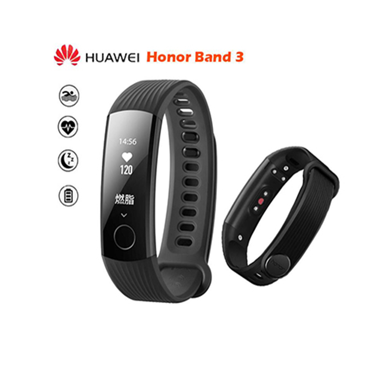 Huawei Honor Band 3, Fitness tracker, Heart Rate Tracker, Message Reminder, Call Reminder, Battery capacity of 95mAh