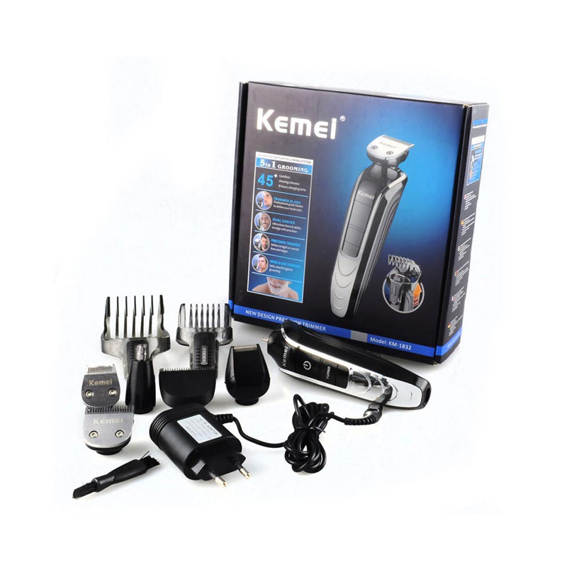 Kemei KM-1832 5in1 Washable Electric Shaver