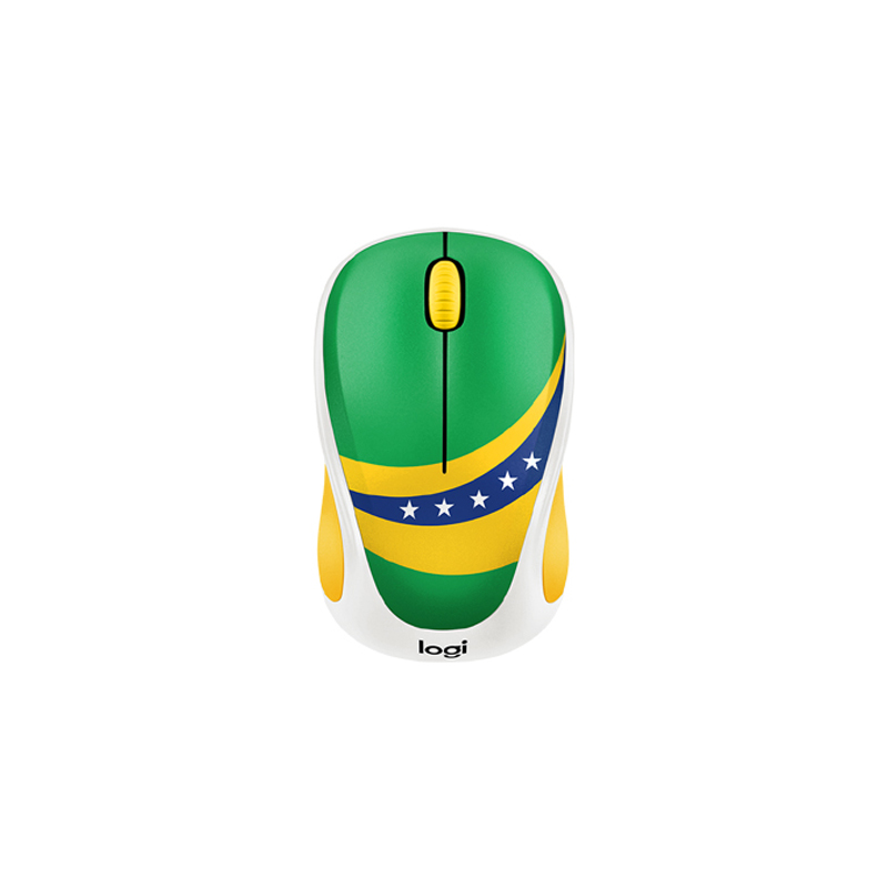 Logitech M238 Brazil Flag Wireless Mouse