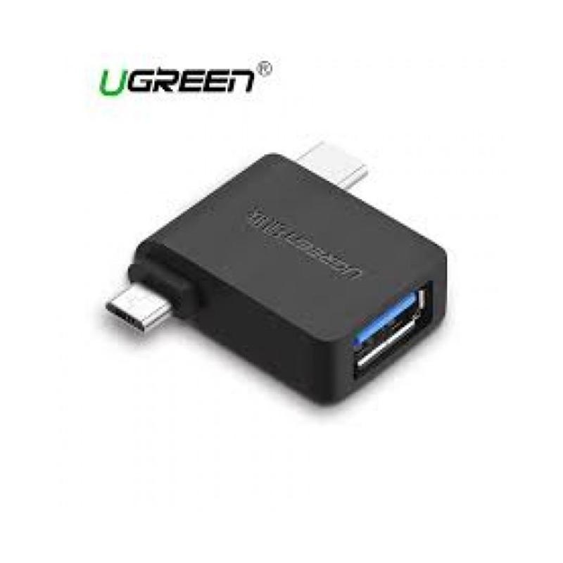 UGREEN 30453 Micro USB+ USB-C to USB 3.0 Adapter