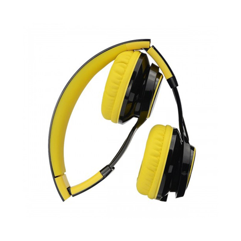Micropack MHP-500 Stereo Headset With Detachable 4 Pin-Black & Yellow