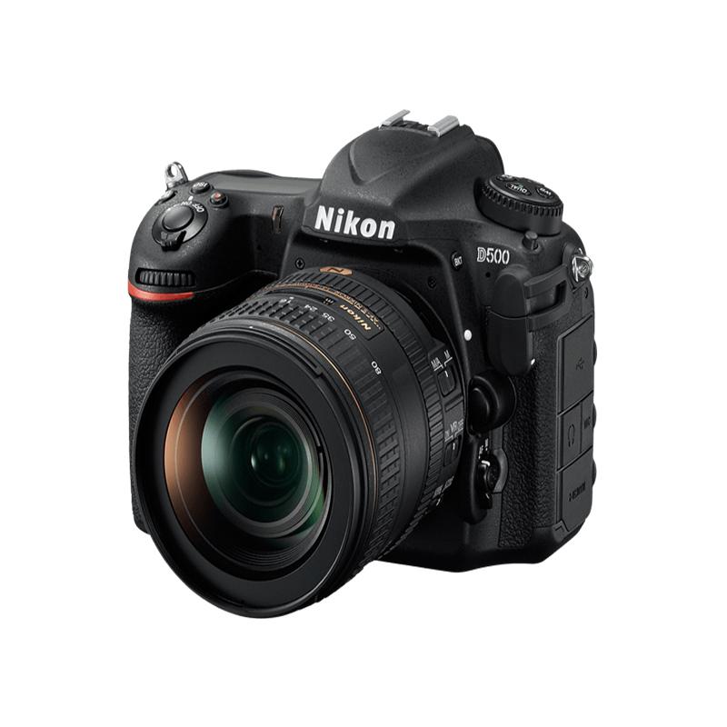 Nikon D500 DSLR, Nikon DX format, 20.88 MP, 3.2 inches LCD