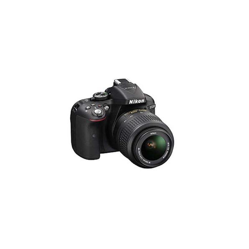Nikon D5300 DSLR, Nikon F mount, 24.2MP, ISO 100 to 12800