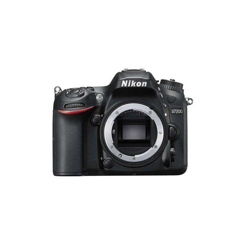Nikon D7200 DSLR, Nikon F mount, 24.2 mp, ISO 100 to 25600