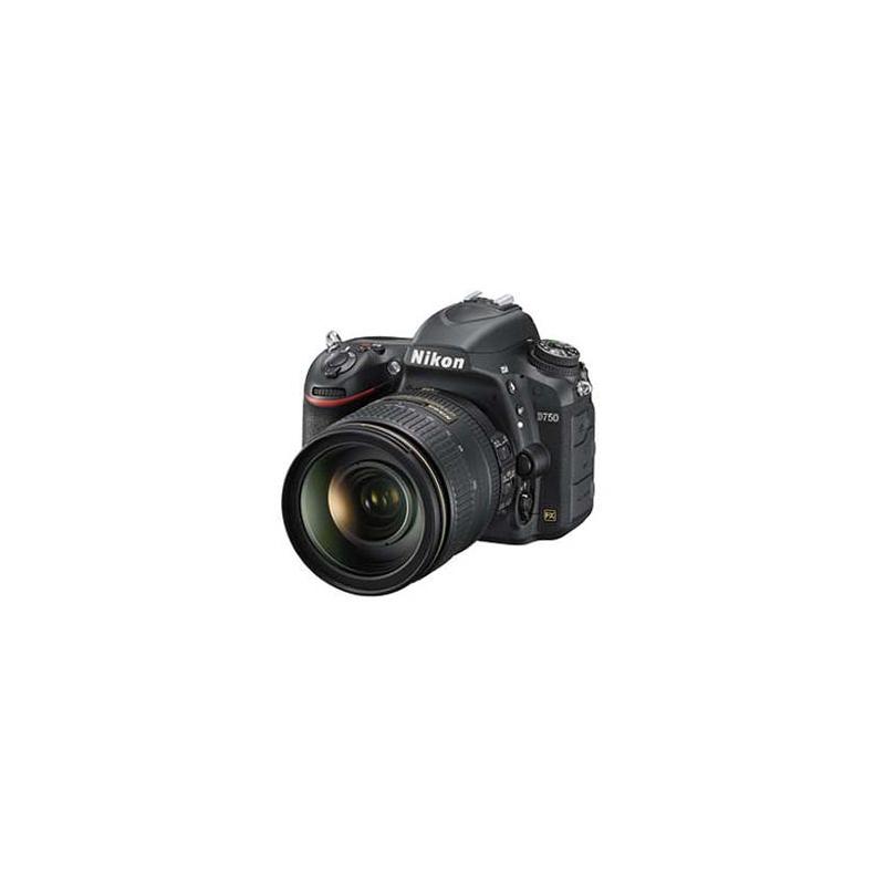 Nikon D750 DSLR, Nikon F mount, 24.3 Megapixels, ISO 100 to 12800