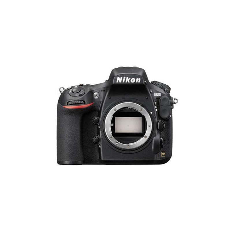 Nikon D810 DSLR, Nikon F mount, 36.3MP, 3.2inch LCD