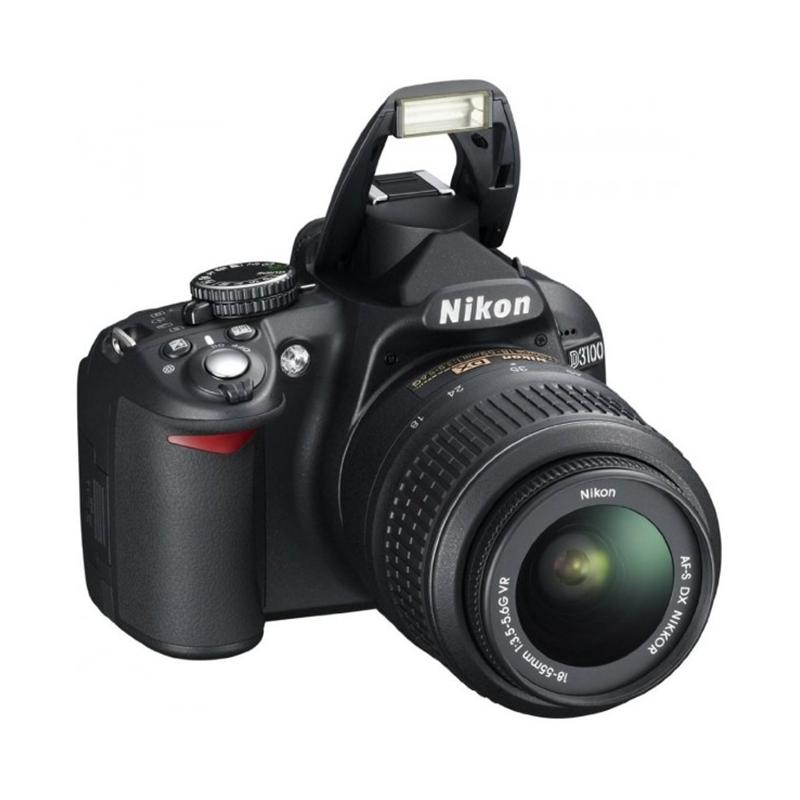 Nikon D3100 DSLR, Dx Sensor Formet, ISO100-3200, 3.0inch LCD