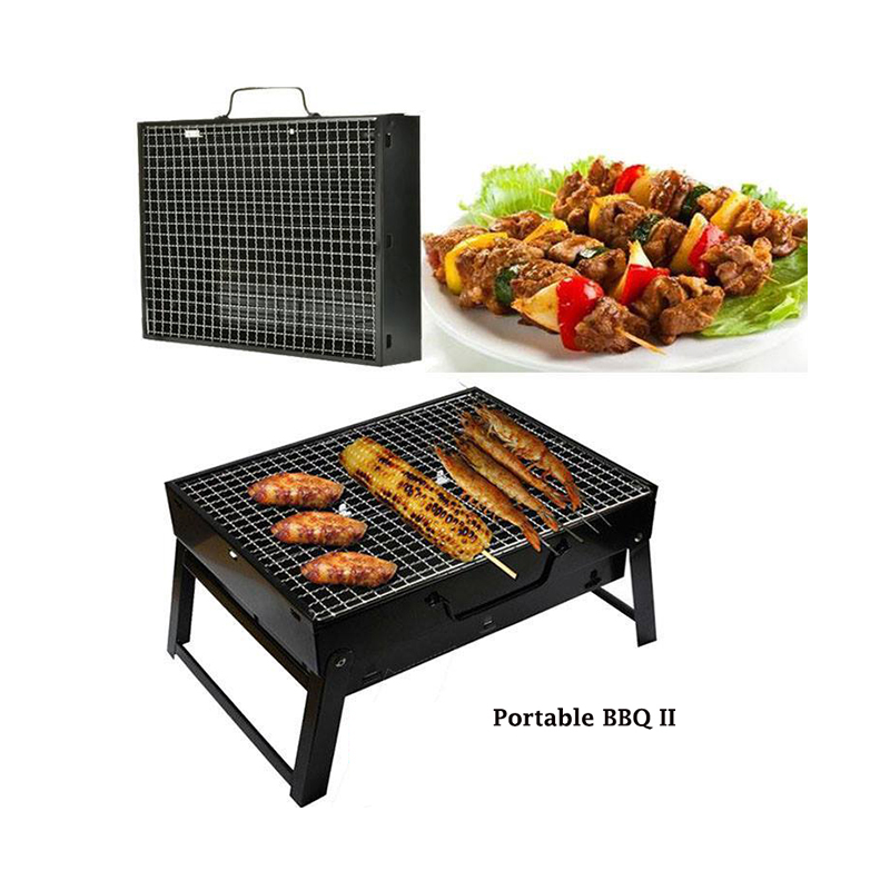 Portable BBQ Grill Maker with Net