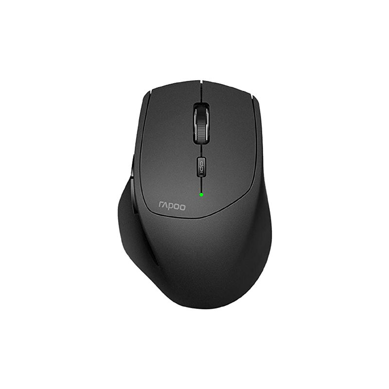Rapoo MT550 Multi Mode Bluetooth Black Mouse