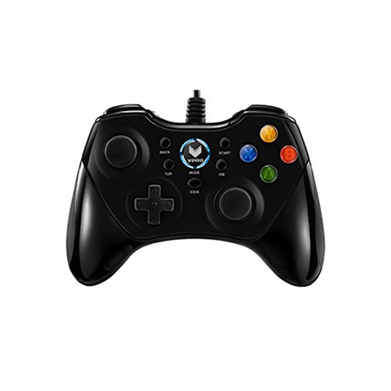 Rapoo V600 Ergonomic Vibration Shock Controller Gamepad for Windows PS3 Android and PC360
