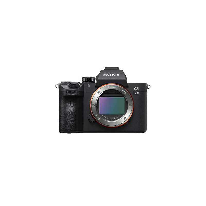 Sony Alpha A7 III, Sony E-mount lenses,Approx. 24.2 megapixels, Exmor R BSI CMOS Sensor