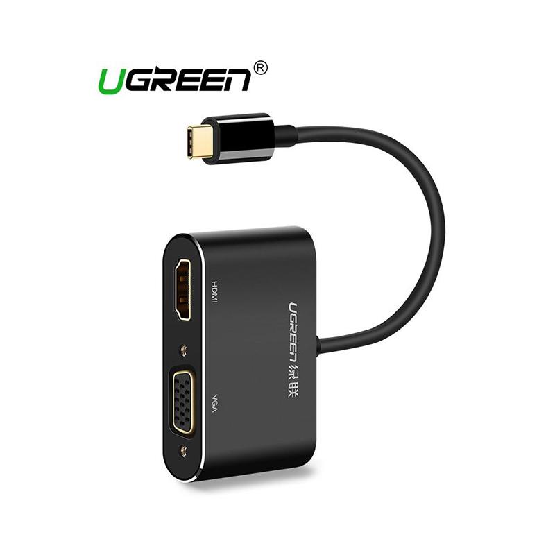 UGreen USB-C to HDMI+VGA Converter