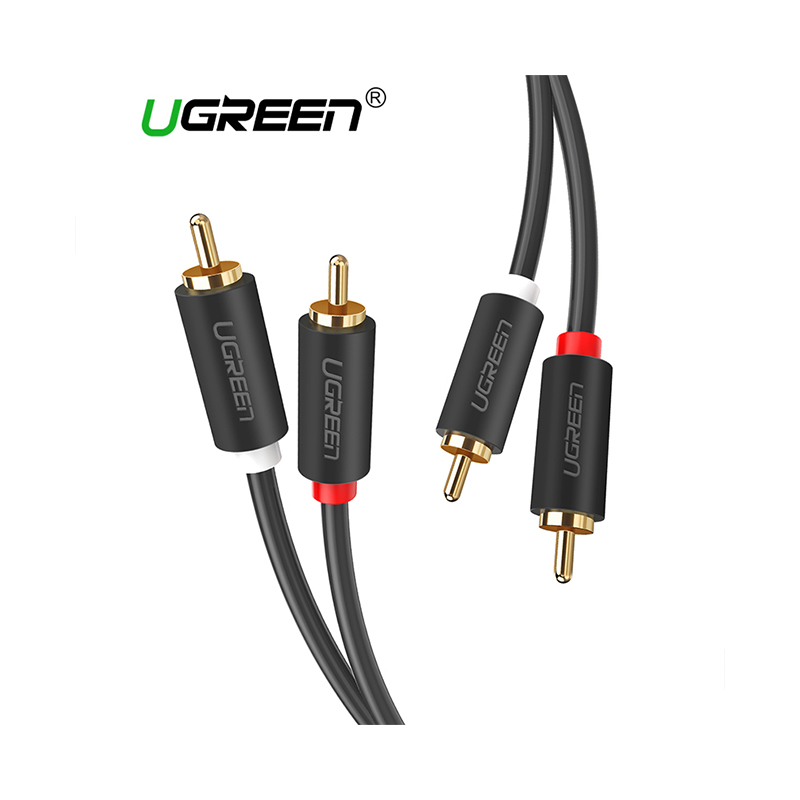 Ugreen 10519 2RCA Male to Male 3 Meter Audio-Video Cable