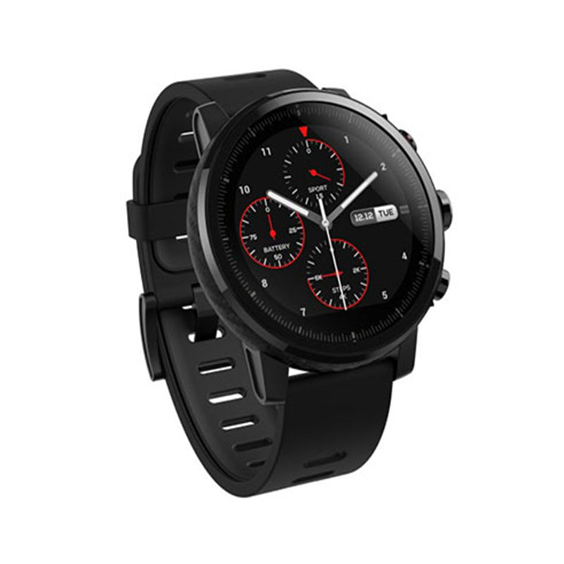 Amazfit Stratos Multi sport Smartwatch with VO2max, All-Day Heart Rate and Activity Tracking, GPS, 5 ATM Water Resistance, Phone-Free Music