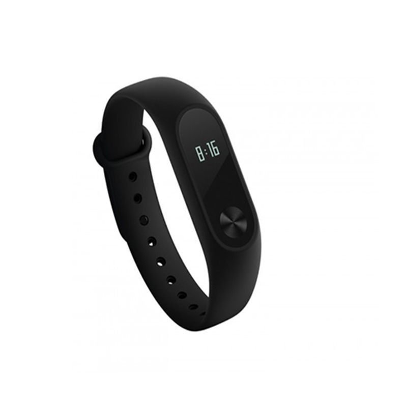 Xiaomi Mi Band 2 Heart Rate Monitor Smart Wristband with OLED Display Black