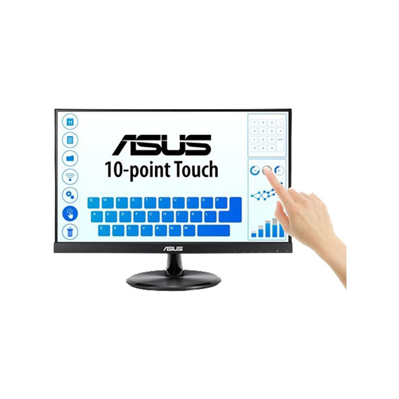 "ASUS VT229H 21.5"" 1920x1080 (WxH) FHD IPS Wide Screen Monitor (VGA, HDMI)"