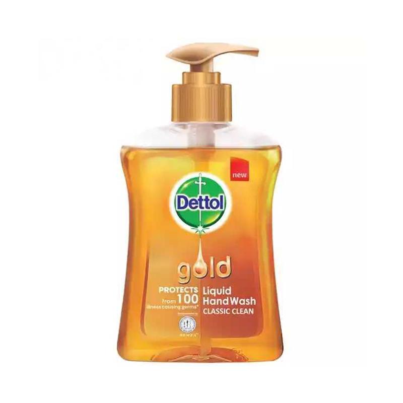 Dettol Handwash Gold 200ml Pump Liquid