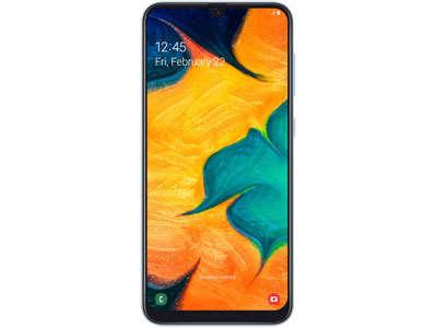 Samsung Galaxy A30(4GB), 6.22-inches Super AMOLED,  4000 mAh Battery